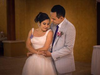 La boda de Dayana y Rafael
