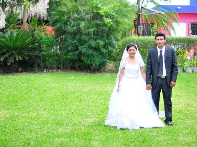 La boda de Lulu y Manuel