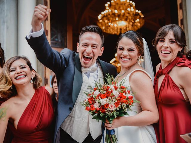 La boda de Daniela y Óscar