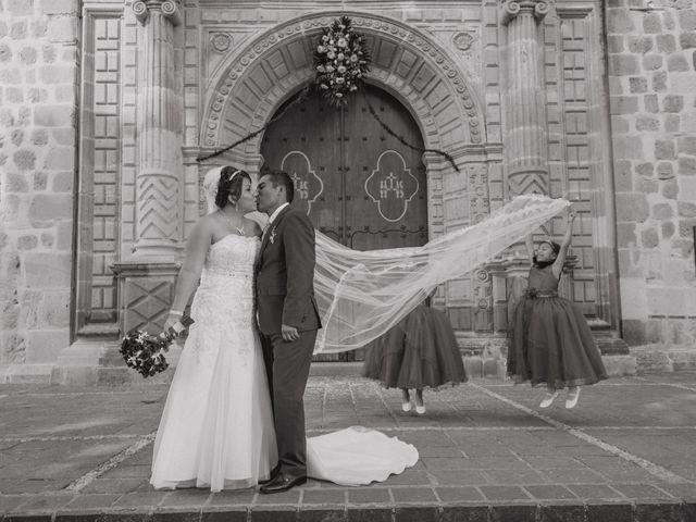 La boda de Gladis y Eder