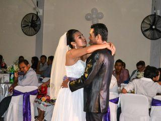 La boda de Josue Esteban y Nicole Iselda