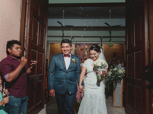 La boda de Israel y Delmy en Hunucmá, Yucatán 29