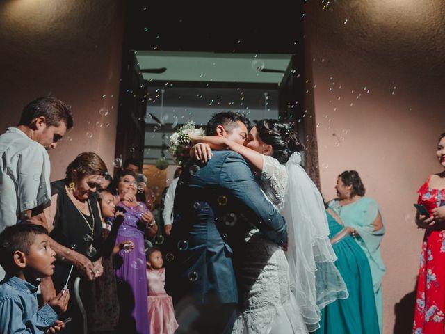 La boda de Israel y Delmy en Hunucmá, Yucatán 31