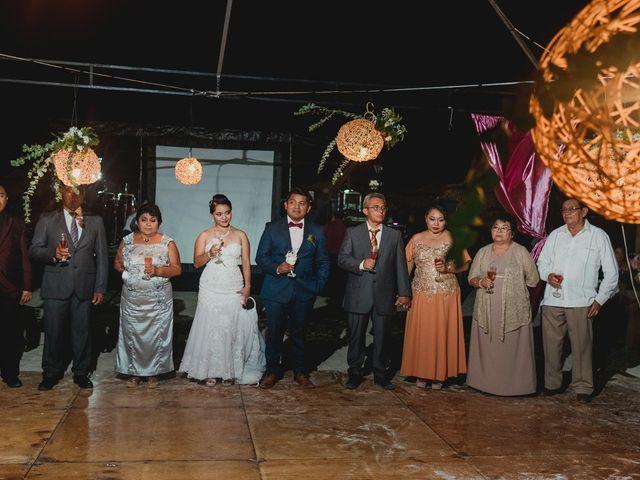 La boda de Israel y Delmy en Hunucmá, Yucatán 46