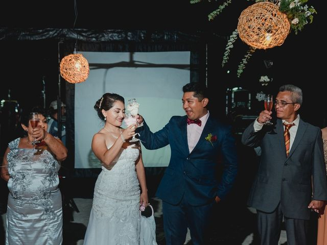 La boda de Israel y Delmy en Hunucmá, Yucatán 47