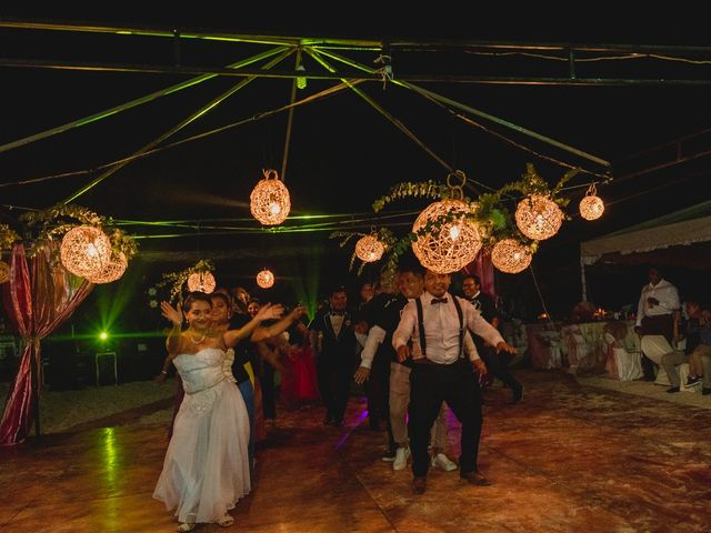 La boda de Israel y Delmy en Hunucmá, Yucatán 53