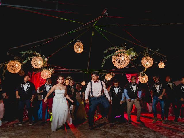 La boda de Israel y Delmy en Hunucmá, Yucatán 57