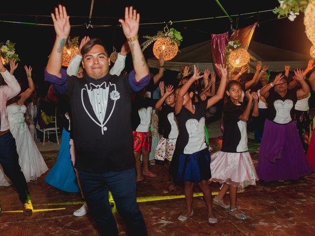 La boda de Israel y Delmy en Hunucmá, Yucatán 59