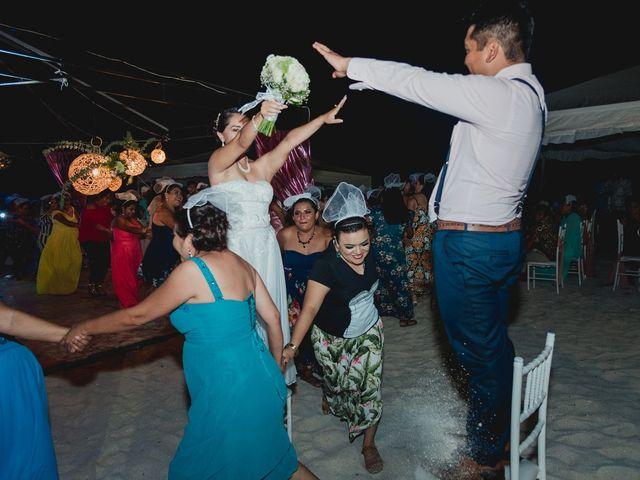 La boda de Israel y Delmy en Hunucmá, Yucatán 66