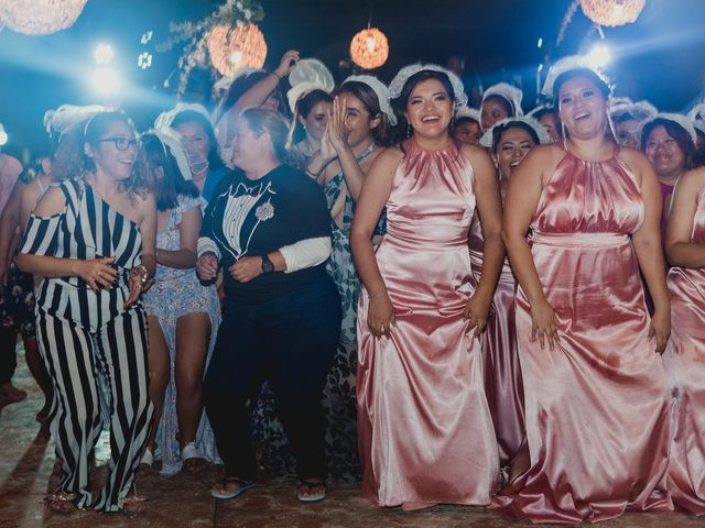 La boda de Israel y Delmy en Hunucmá, Yucatán 75