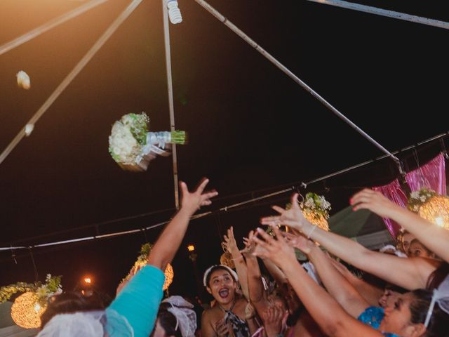 La boda de Israel y Delmy en Hunucmá, Yucatán 77