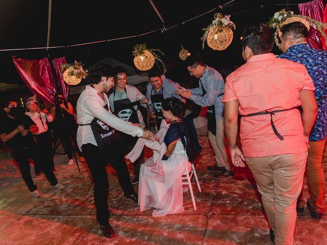 La boda de Israel y Delmy en Hunucmá, Yucatán 87