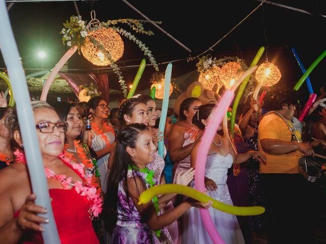 La boda de Israel y Delmy en Hunucmá, Yucatán 93