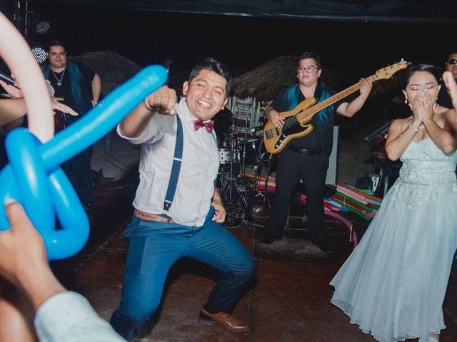 La boda de Israel y Delmy en Hunucmá, Yucatán 100