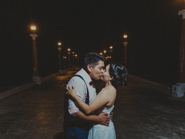 La boda de Israel y Delmy en Hunucmá, Yucatán 103