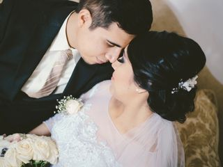 La boda de Gladys y Kristofer