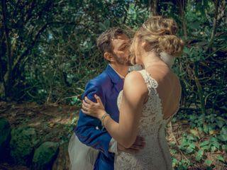 La boda de Airy y Daniel