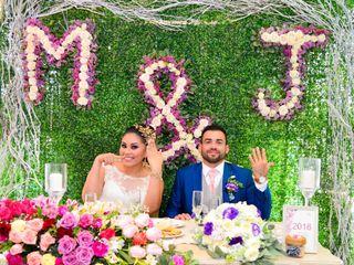 La boda de Marlin y Javier