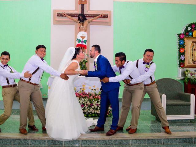 La boda de Javier y Marlin en Comalcalco, Tabasco 3