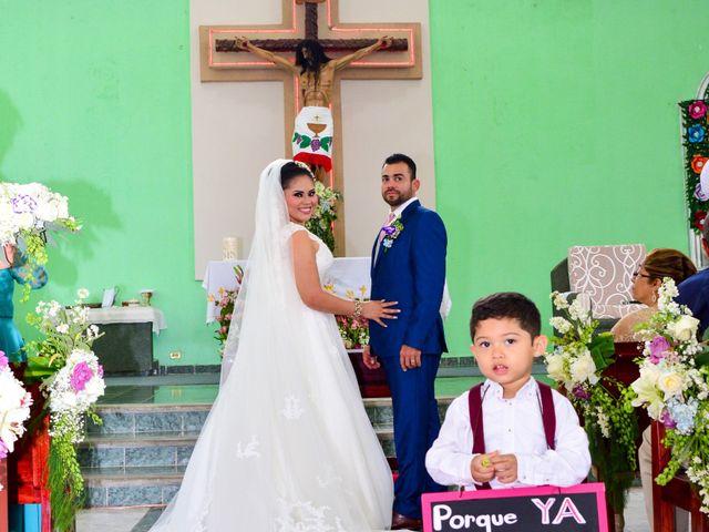 La boda de Javier y Marlin en Comalcalco, Tabasco 4