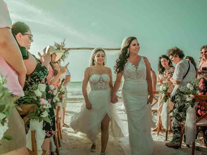 La boda de Nelly y Natalia