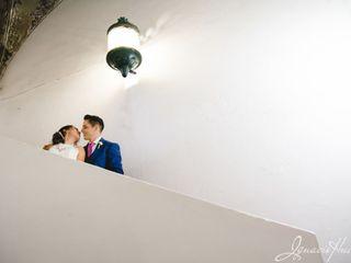 La boda de Oscar Ibarra  y Mishell  1