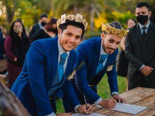 La boda de Víctor y Emmanuel
