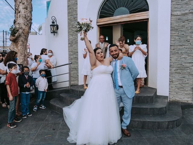 La boda de Alberto y Nora en Manzanillo, Colima 45