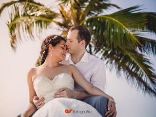 La boda de Yumahara y David