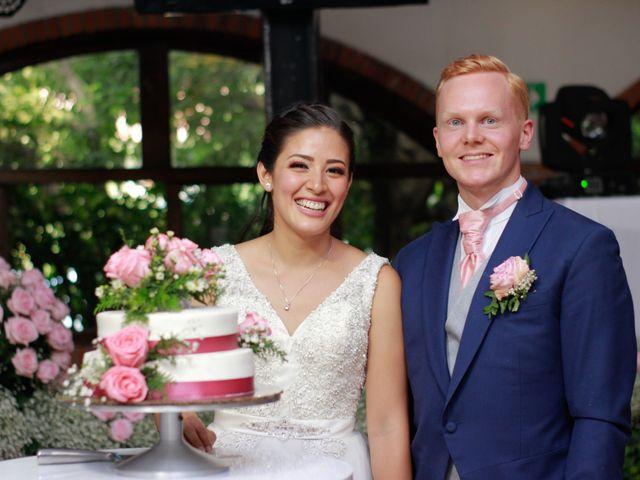 La boda de Abigail y Axel
