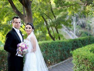 La boda de Alma González Moya y Daniel López García