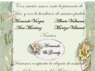 La boda de Greesly  y Armando 1