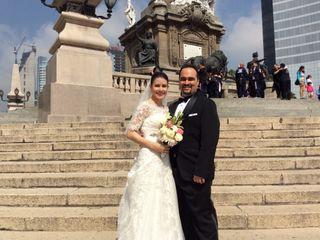 La boda de Greesly  y Armando