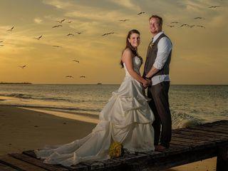La boda de Rosa y Estevan
