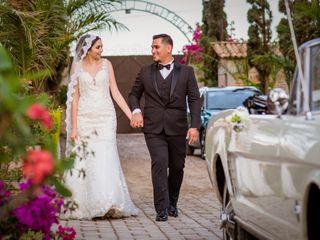 La boda de Aimee y Javier