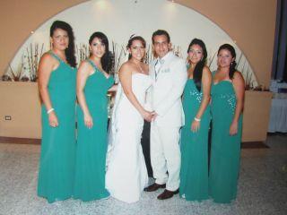 La boda de Adrian y Leslie