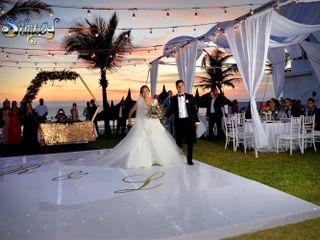 La boda de Libna  y Roger