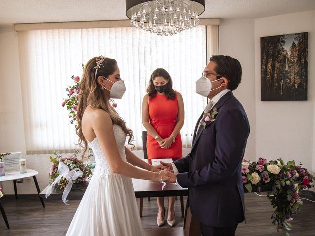 La boda de Jorge y Cyntia en Naucalpan, Estado México 16