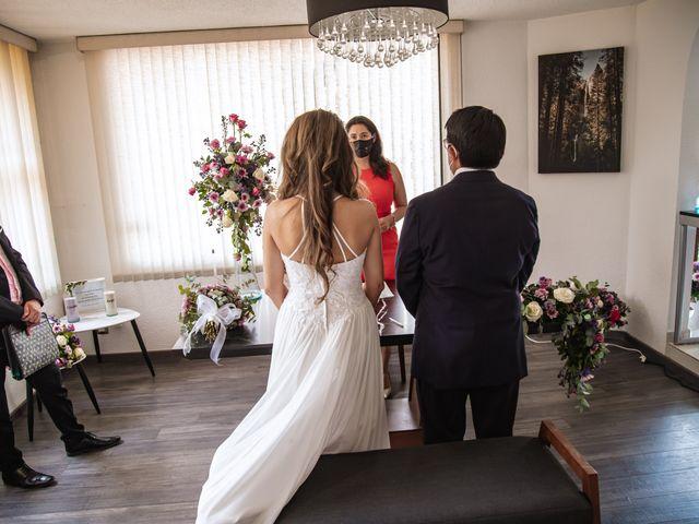 La boda de Jorge y Cyntia en Naucalpan, Estado México 17