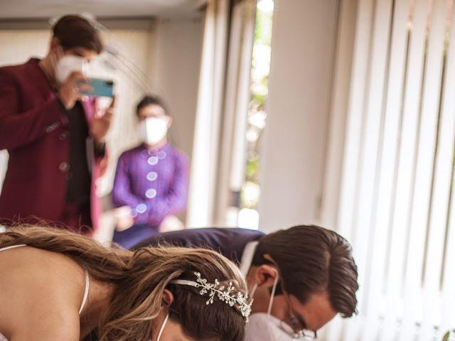 La boda de Jorge y Cyntia en Naucalpan, Estado México 18