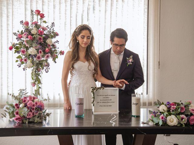 La boda de Jorge y Cyntia en Naucalpan, Estado México 20
