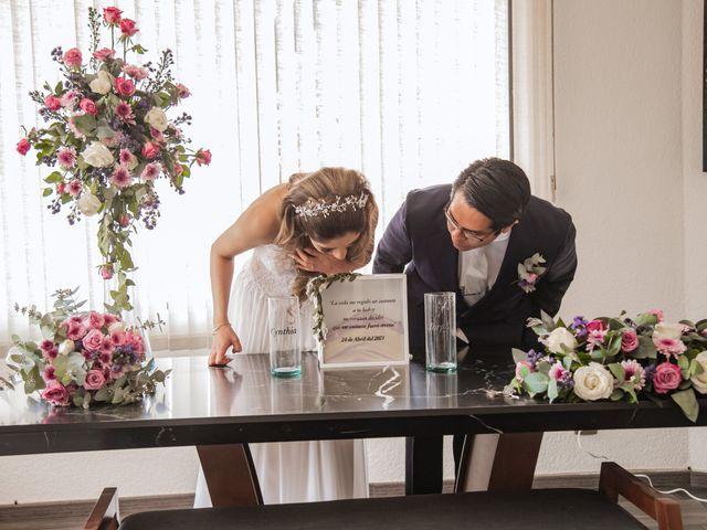 La boda de Jorge y Cyntia en Naucalpan, Estado México 21
