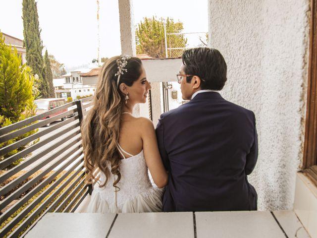 La boda de Jorge y Cyntia en Naucalpan, Estado México 26
