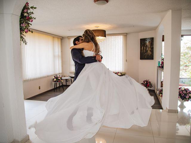 La boda de Jorge y Cyntia en Naucalpan, Estado México 2