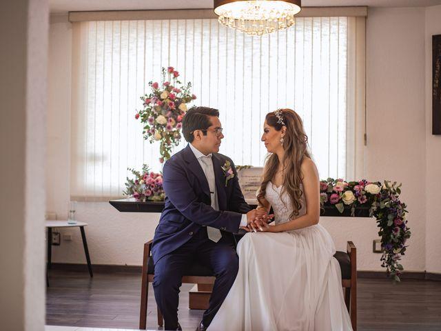 La boda de Jorge y Cyntia en Naucalpan, Estado México 30