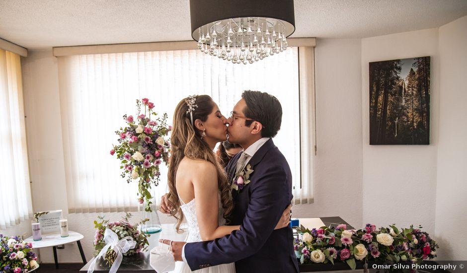 La boda de Jorge y Cyntia en Naucalpan, Estado México