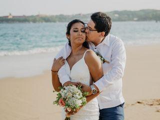 La boda de Glenda y Mijaíl