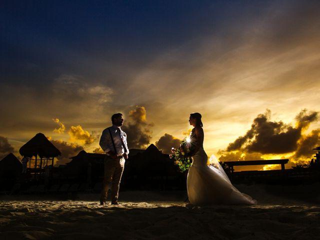 La boda de Ashley y Sam