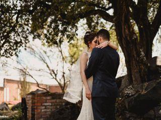 La boda de Tere y René