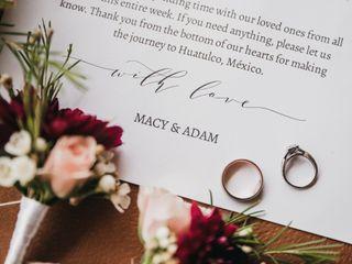 La boda de Macy y Adam 2